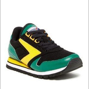 Brooks Chariot Sneaker LEMON GREEN-BLACK New
